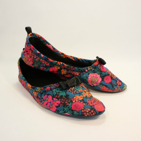 chaussons liberty rose 2